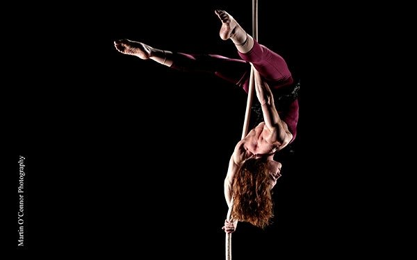 photo of Molly Graves, aerial rope coach