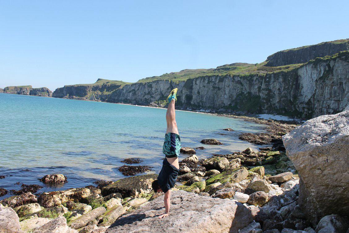 photo of Jamie Corona, acrobatics coach at NECCA