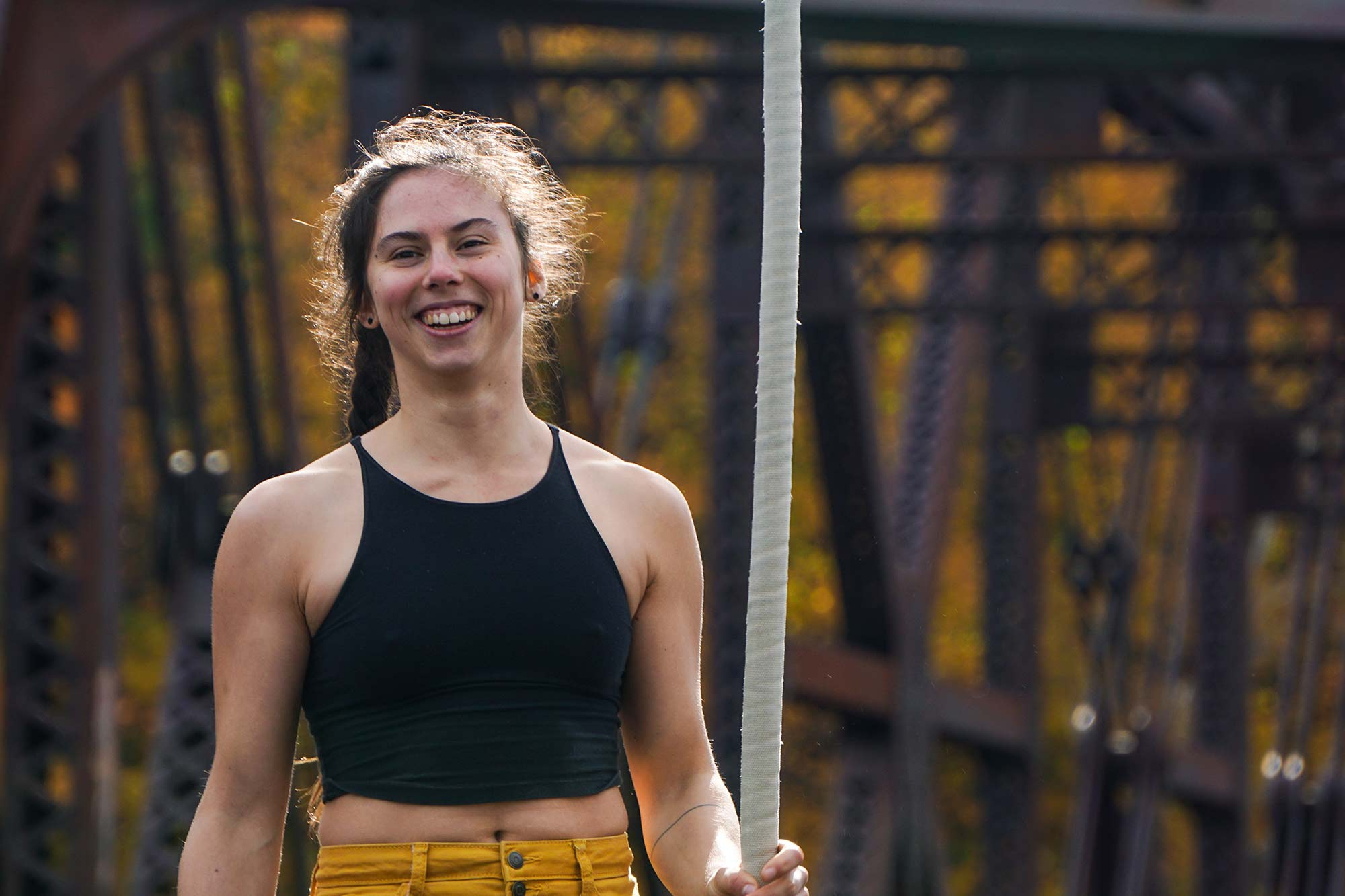 photo of erika radcliffe, a rope coach at NECCA