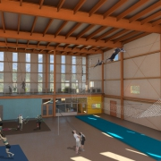 3d rendering of the new NECCA facility