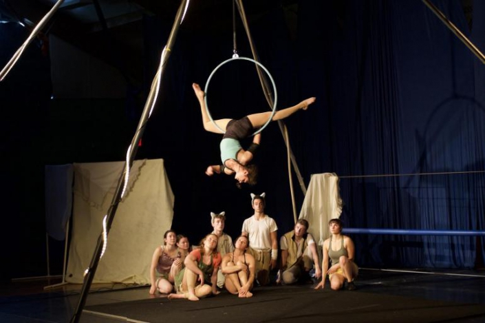 photo of a company performing at NECCA