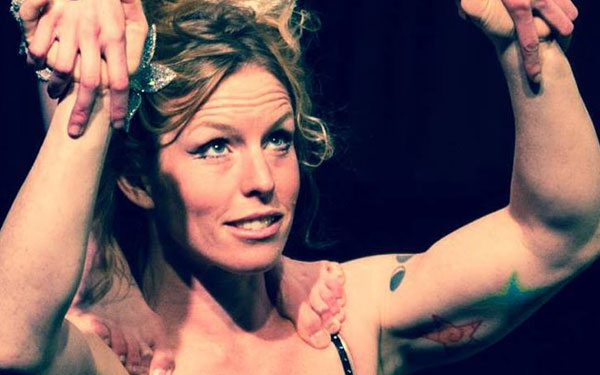 photo of aimee hancock, core faculty and dance trapeze coach